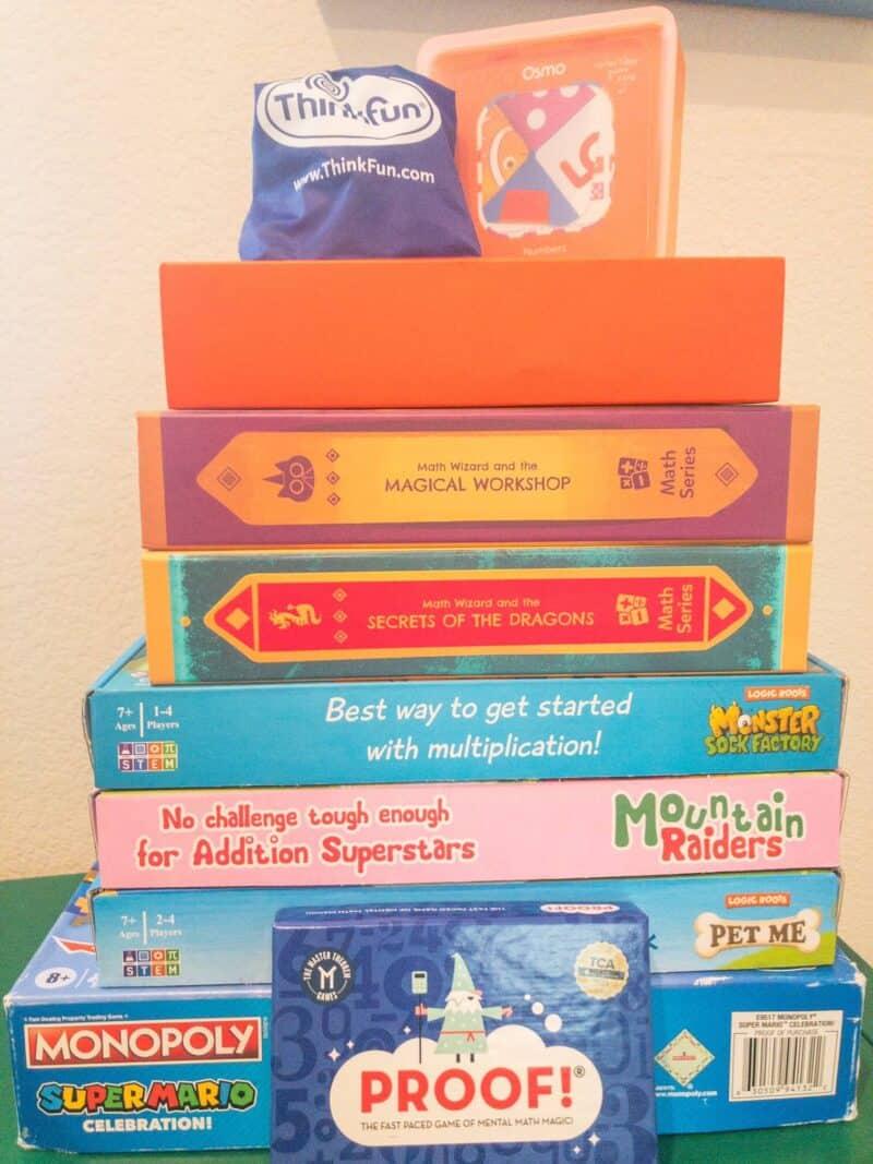 10 Incredible Math Games for Kids That Make Learning Math FUN!