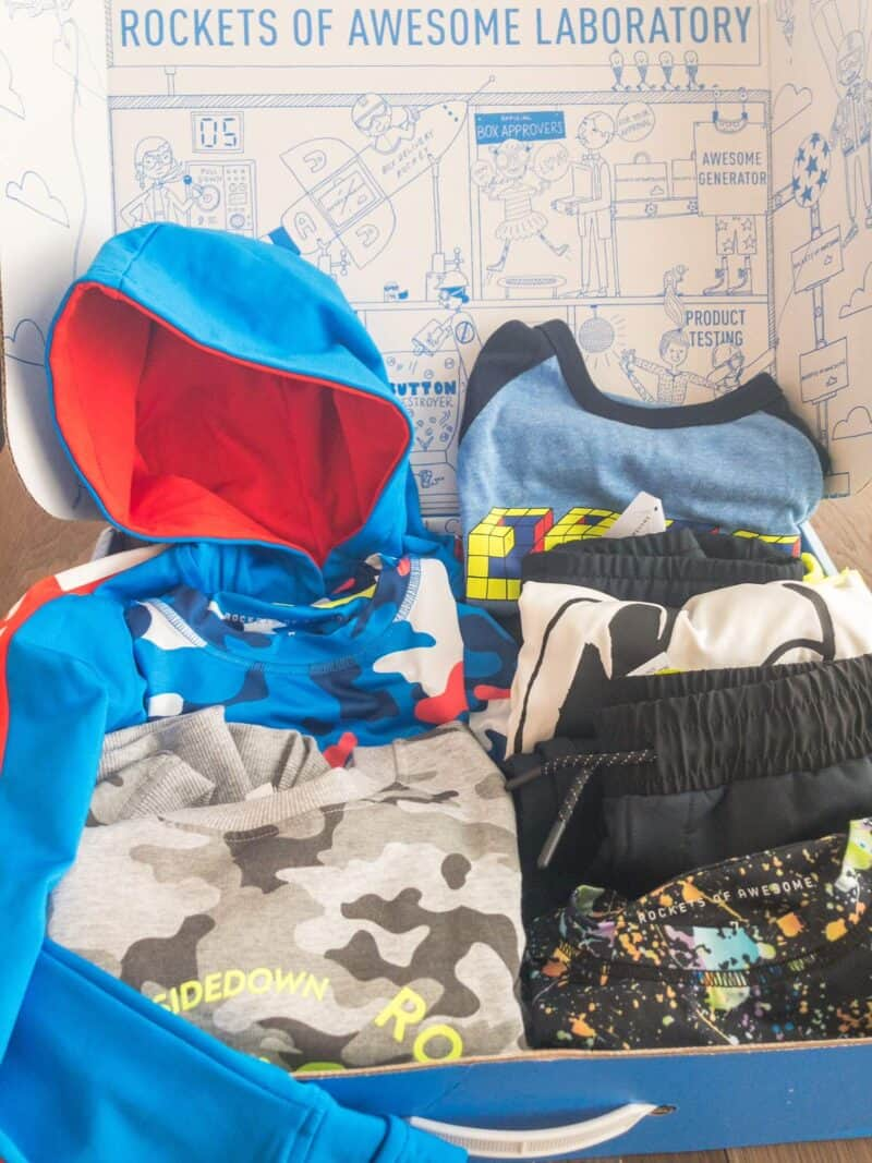 Rockets of Awesome for Boys: My Review & Promo Code for A FREE Outfit for YOU!