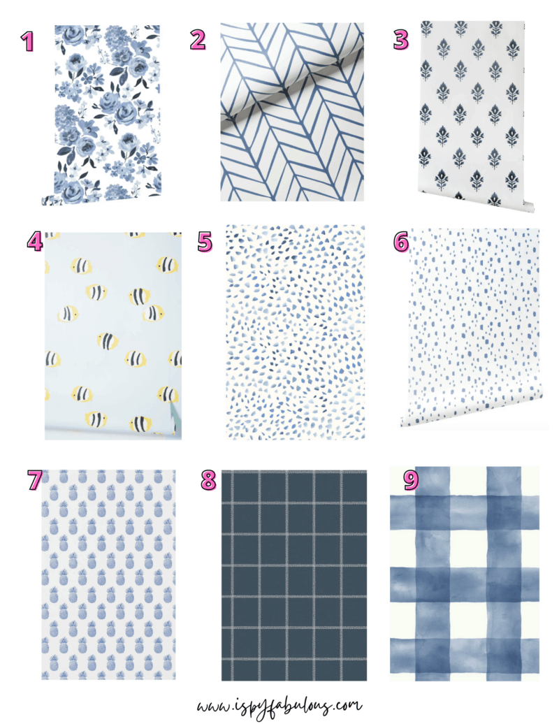 9 Blue Wallpaper Designs You'll Want On Your Wall Immediately