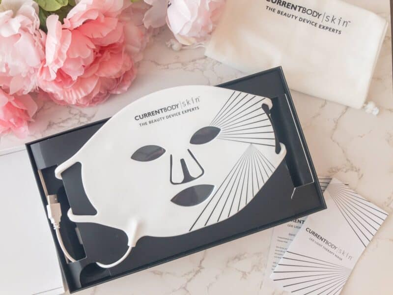 Do LED Light Therapy Face Masks Work? I Tried The CurrentBody Skin Led Mask To Find Out!