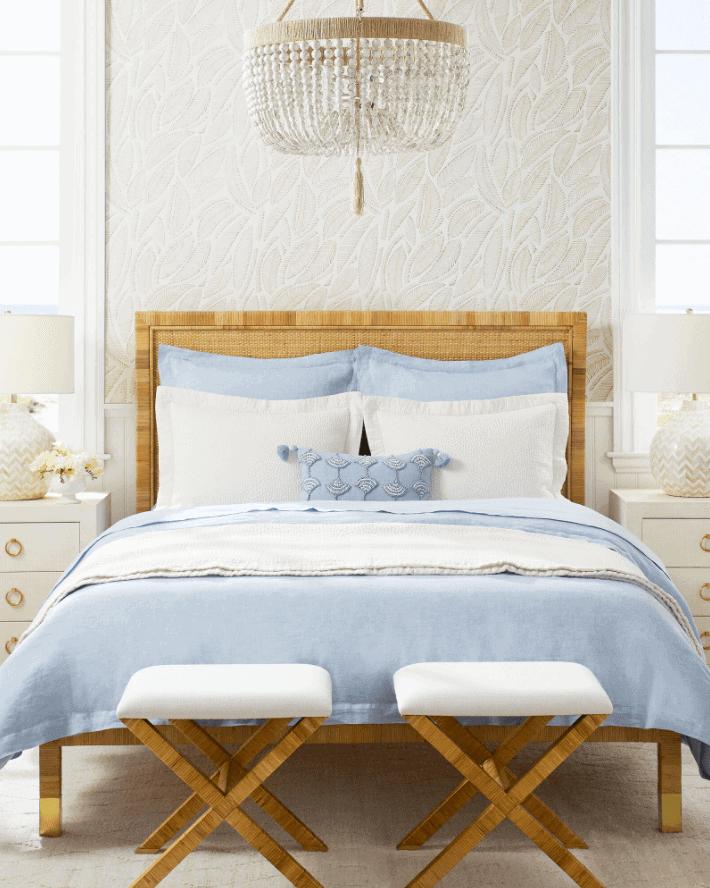 3 Serena & Lily Balboa Rattan Platform Bed Lookalikes That Are So Good!